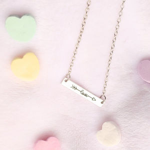 Jewelry - Love Pendant Dainty Necklace SILVER ♡ Gift Ideas